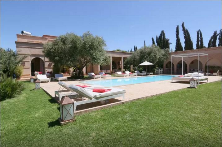 Villa Saada Marrakech Luxury Villa Villa De Luxe Marrakech